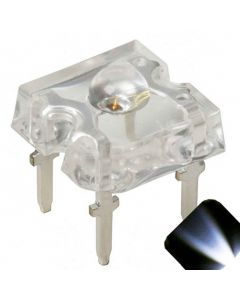 3mm Piranha Cool / Clear White LED - Ultra Bright Superflux